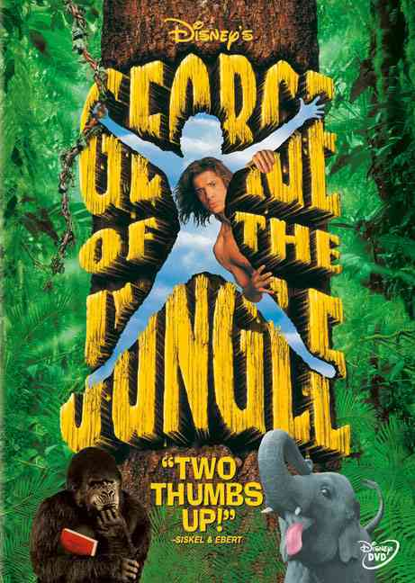 GEORGE OF THE JUNGLE BY FRASER,BRENDAN (DVD)
