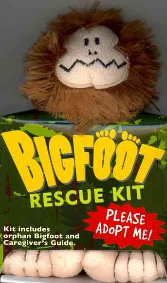 Bigfoot Rescue Kit By Footloose-lautrec/ Toedelaire/ Wheeler, David Cole
